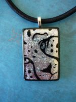 Custom Cheetah Fused Glass by FusedElegance