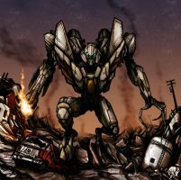 Starscream's Fury by Wegons