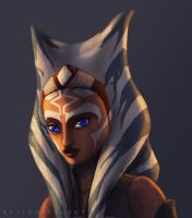 Ahsoka Tano -rebel leader by Raikoh-illust
