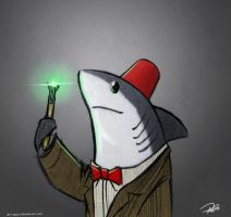 Who Shark by RobtheDoodler