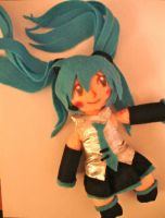 Plushie: Vocaloid Miku by dollphinwing