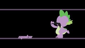 Spike Wallpaper by Alexstrazse