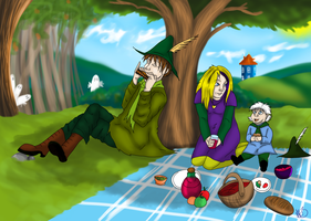 Picnic in the Moominvalley by FlameCurry