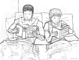 Reading In Bed by angelac