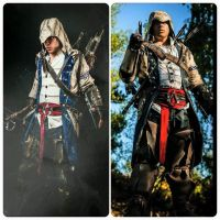 AC III - Connor Kenway - Then and Now by CreedCosplay