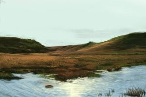 Landscape study 01 by xyphid