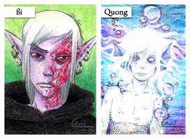 Quong and SZi by cevier