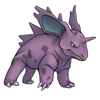 Nidorino dA Kanto Pokemon Collaboration by EagleIronic