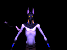 Anubis - High Poly Model by VampireSelene13