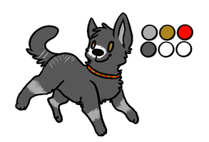 Canine adoptable for sale!^^ by daunt-less