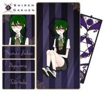 [Shiren Gakuen] Student Council Auditor by A13stract