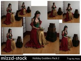 Holiday Goddess Pack 2 by mizzd-stock