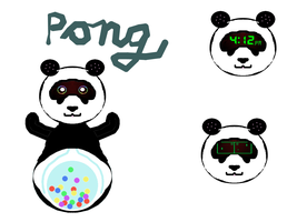 Pong the Panda Bot by DreamsWithinMe