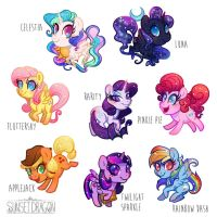 Pony Charms on Pre-Order by Flying-Fox