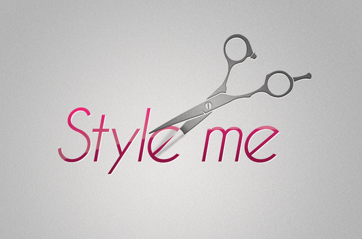 Style me, hair stylist logo by chadpowell