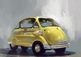 BMW isetta by swarooproy