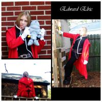 Cosplay - Edward Elric by TaliahWolfess