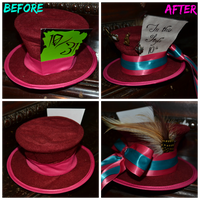 Mad Hatter Hat by Singing-Wolf-12