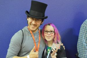 Meeting Markiplier by NeurotiKat