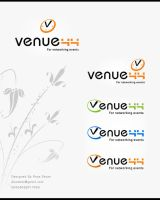 Venue44 logo by DesignersJunior