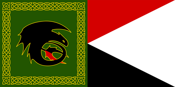 King Hiccup's Standard by SoaringAven by RedStarryNight
