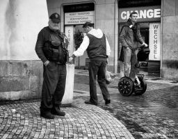Policeman And Two Other by OllieWie