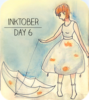 Inktober Day 6 by TheRainbowRose