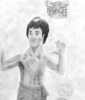 Bruce Lee by willie565