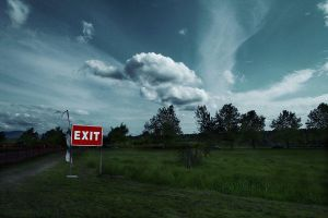 Emergency Exit by Dheinamar