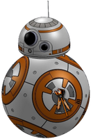 Desktop Gadget Clock Star Wars 7 Ball Droid by ProfessorAdagio