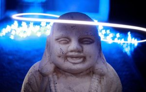Happy Bokeh Buddha 2 by pauroo