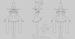 Blair Model Sheet by johnnydwicked