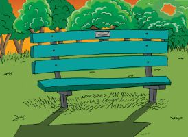 Bench in the Park by TLY88