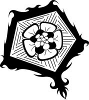 Gothic Flower Design by Syncratio400