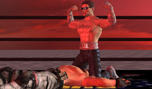 Cage vs Redfield 05 by MMPW