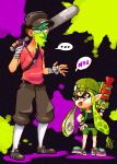 Team Splatoon by TamarinFrog