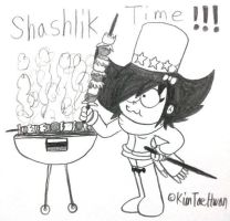 Stella,She's a Spygirl : Shashlik Time! by komi114