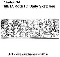 META RotBTD 2014 Daily Sketch 4-14 by veekaizhanez
