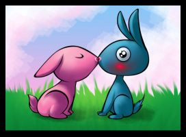 Bunnies :3 by Penril