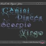 PS Brushes - The Zodiac by Stars-of-Nevaeh
