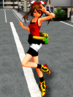 [MMD] The Streets of Rustboro by Nintendraw