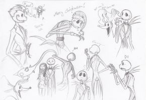 Jack Jack Jack Jack and Sally by DarkDragon1010