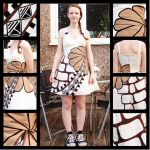As Textiles project- Geometric Shapes by MaybeAnna