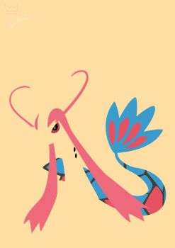 Milotic by S--Art