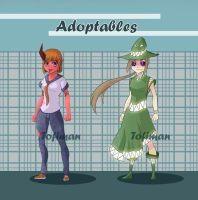 Adoptables by Tofiman