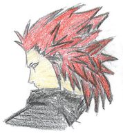 axel colored by Dessan-san