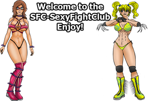 Welcome to the Sexy Fight Club by xZeroMan