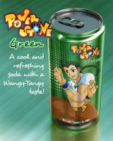 Power Stone Soda: Green by chloebs