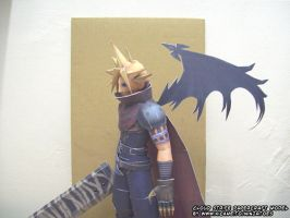 Cloud Strife papercraft model1 by ninjatoespapercraft