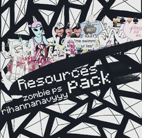 Resources Pack (for +100 watchers) by rihannanavyyy